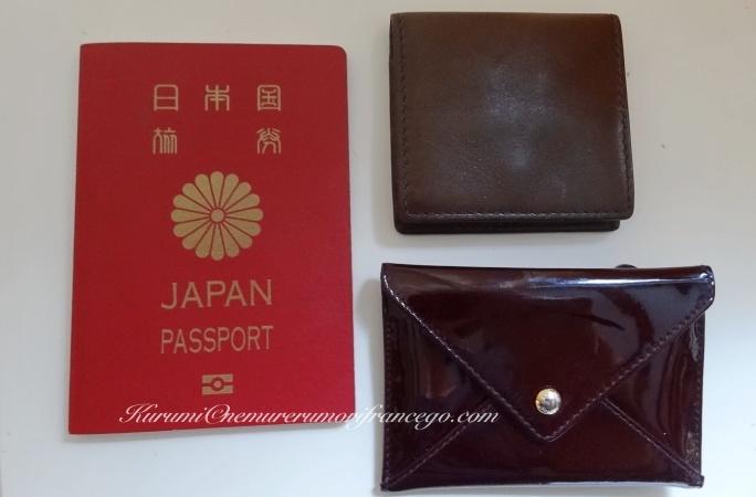 パスポートと貴重品のセキュリティ