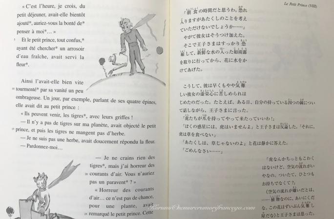 星の王子さま翻訳