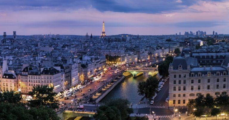 フランス語パリ