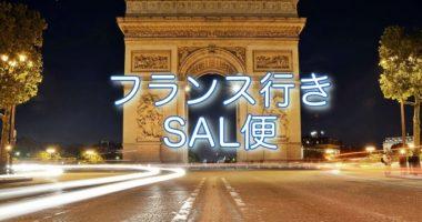 フランス国際小包SAL便復活