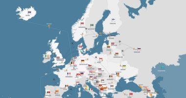国、地域、街を表すフランス語の前置詞、覚えやすい使い分け方