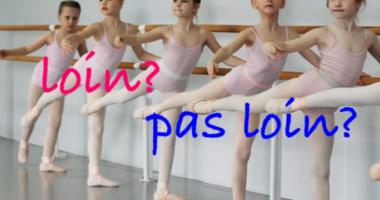 遠いばかりじゃない副詞 loin。très, trop, plusそうは言わないフランス語3