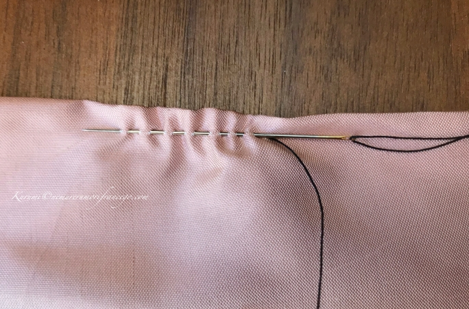 手縫いできれいに作るコツ