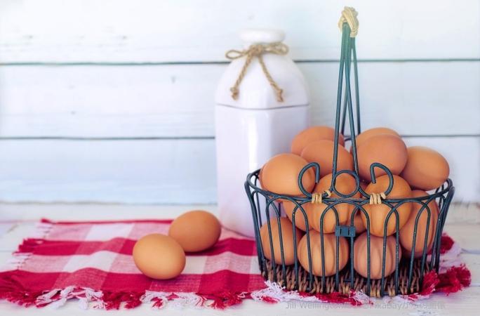 卵、卵の複数形、卵を6個、をフランス語で何という?